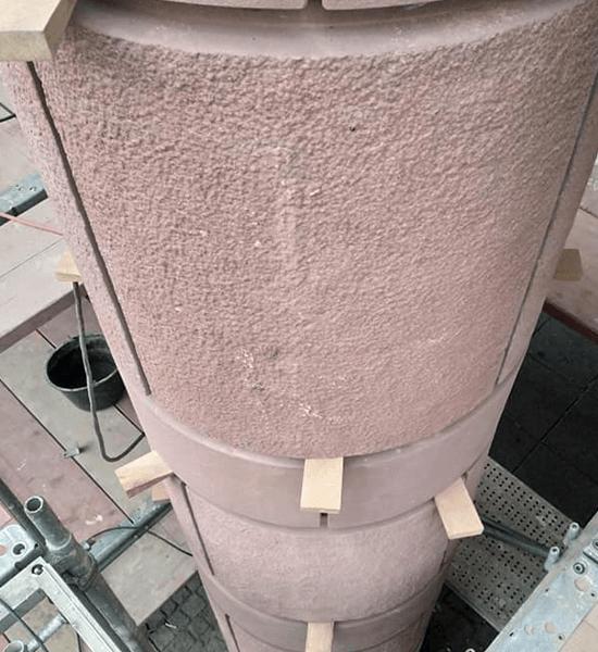 Stadthaus Mannheim - Sandsteinverkleidung 02