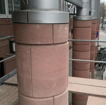 Stadthaus Mannheim - Sandsteinverkleidung 03